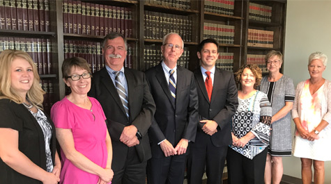 Deck & Baron legal team serving Kankakee and Iroquois Counties in Illinois